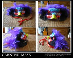 Carnival mask by selene713