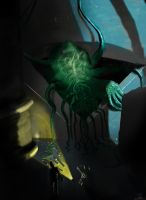 Cthulhu Look Away! by WillWorks