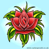 : Rose Tattoo : by Its-a-Carly