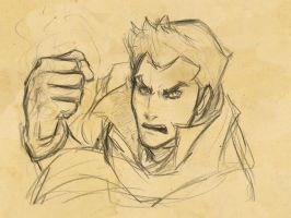 From the Sketchbook: Mako by Aleana