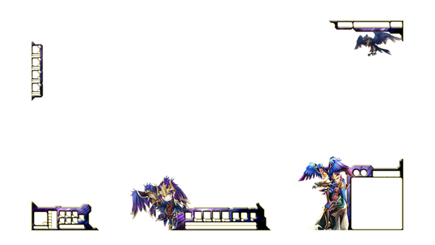League of Legends Quinn Stream Overlay by QuinnCrystal