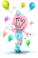 Zuu the cotton candy by candycandy-chan