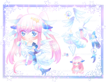 Stars! Heavenly, Mythical Angel~ + Video by RumCandyAdopt