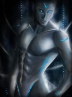 Blue Android by Oli-H