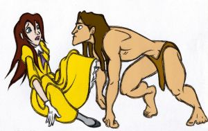 Tarzan meets Jane by Nonsensicle
