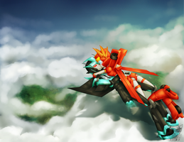 A flight on the Clouds by Sidian07