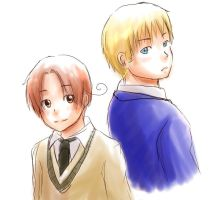APH: untitled gakuen theme by qianying