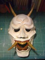 Hannya Mask by The-Underwriter