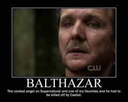 Balthazar Motivational Poster by AlmightyPineapple