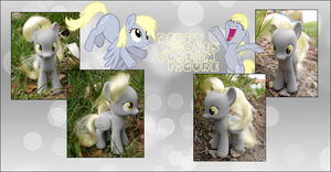 My little Pony Derpy Hooves Custom Pony Brushi by Asukatze