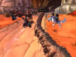 Bear Train in Orgrimmar by Druidsofthebeast