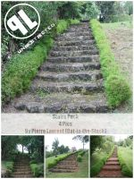 Stone Stairs - Unrestricted by Cat-in-the-Stock