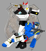 Bot Cops cheap color by Jee-Youn-Lim
