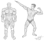 muscle men by C0UGHDR0P