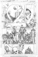Legion 7 page 3 pencils by Cinar