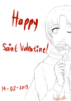 Happy Valentine!! by Kalafin99