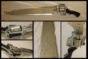 FF VIII Gunblade Revolver by Sephiroths-Shadow