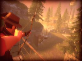 Sniper Archery from the Top by FarhanHQ