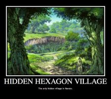 Hidden Hexagon Village by Doodles-For-Murfs