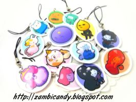 Adventure time charms by zambicandy