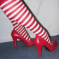 my red high heels 2 by Prepare-Your-Bladder