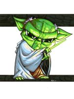 Baby Yoda 2 by olivernome