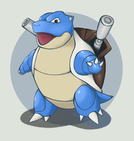 Blastoise by Hydro-King