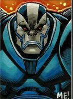 Apocalypse ACEO sketch card by MasonEasley