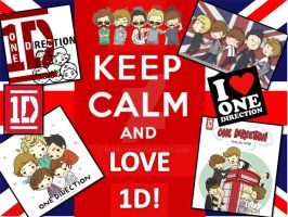 Keep Calm and Love 1D! by berry331