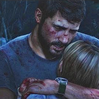 The Last of Us Icon - Joel crying for Sarah by TheARKSGuardian