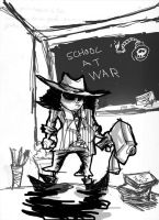 School At War Cover by DaveTheSodaGuy