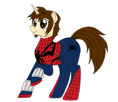 Spiders and Magic - Spider-Mane (Ben Reilly Suit) by edCOM02