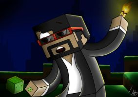 CaptainSparklez by IshmanAllenLitchmore