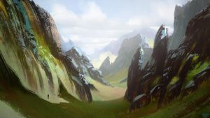 Shape and composition practice by Balaskas