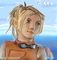 Final Fantasy X - Rikku by redderz