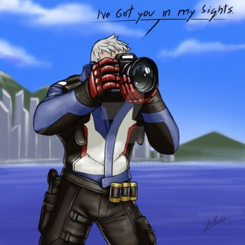 76 taking a photo by Drottem