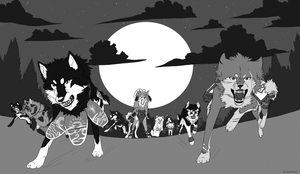 The Warriors of Furano by BambooFoxFire