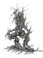 Corrupted Tree Demon by seriousx9