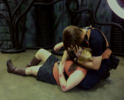 Cosplay: Not Going Anywhere (RE4) by AngelicCosplay