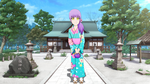 Chie at the shrine by vicfania8855