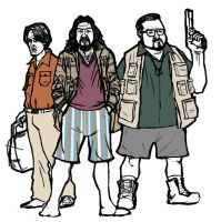Donny, The Dude, and Walter by Matt-Almeida