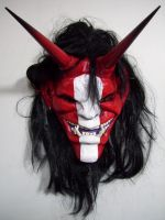 Oni Mask Red by mostlymade