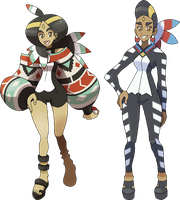 Champion/Elite Four Isabel by NachtBeirmann