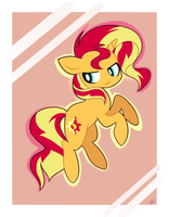 blasts off into the sunset by pinkfrilly