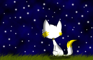 Looking at the Stars by CrescentCat