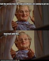 Mrs Doubtfire by MorganaDarkness