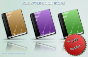 KDE style books .ico by tonev