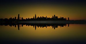 The Sky Line - Chicago by Rana-Rocks