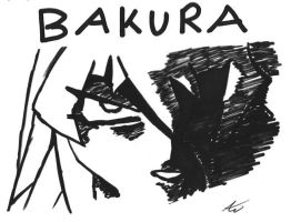 Bakura - Sharpie Experiment by DarkAngelYahriel