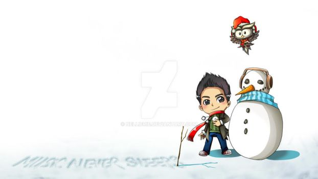 Jason Chen Music Christmas Edition Fanart by NellieRie